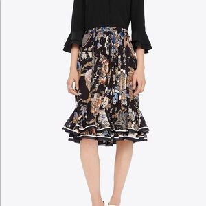 authentic, tory burch skirt